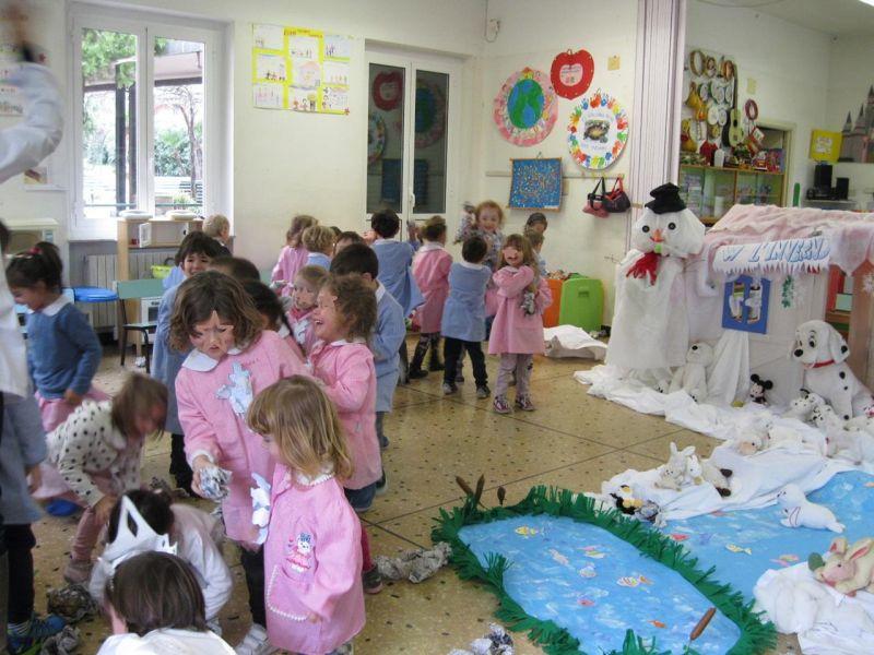 Festa d 39 inverno e recita di natale scuola infanzia for Addobbi scuola infanzia